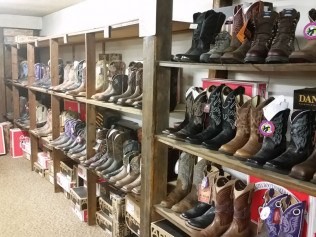 Hundreds on Hundreds of Boots
